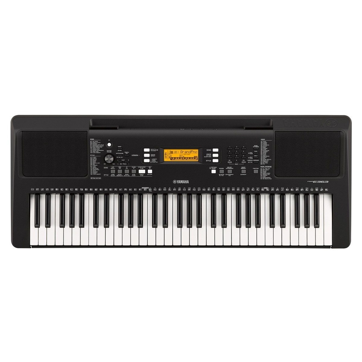 yamaha psr e363 portable keyboard at. Black Bedroom Furniture Sets. Home Design Ideas