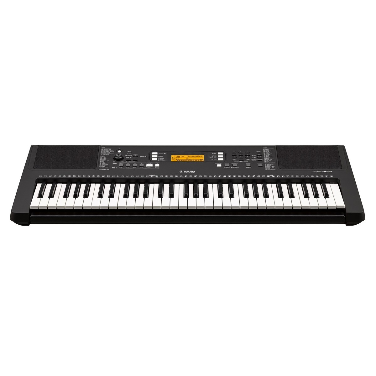 Yamaha psr e363 portable keyboard with stand bench and for Www yamaha keyboards