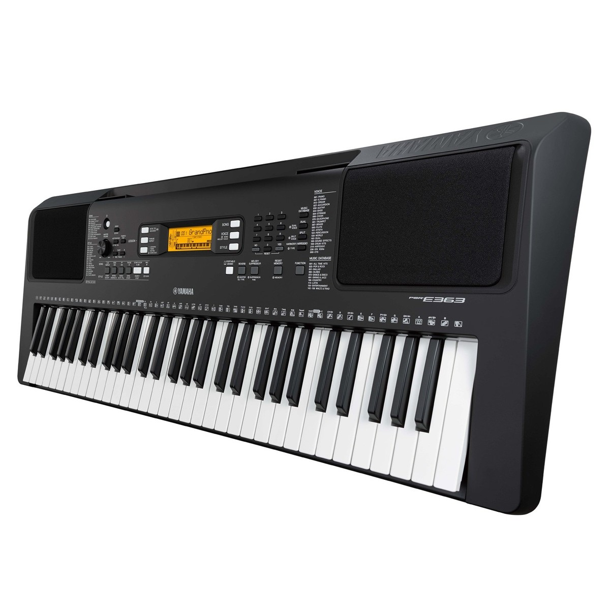 Yamaha psr e363 portable keyboard with stand bench and for Yamaha credit application