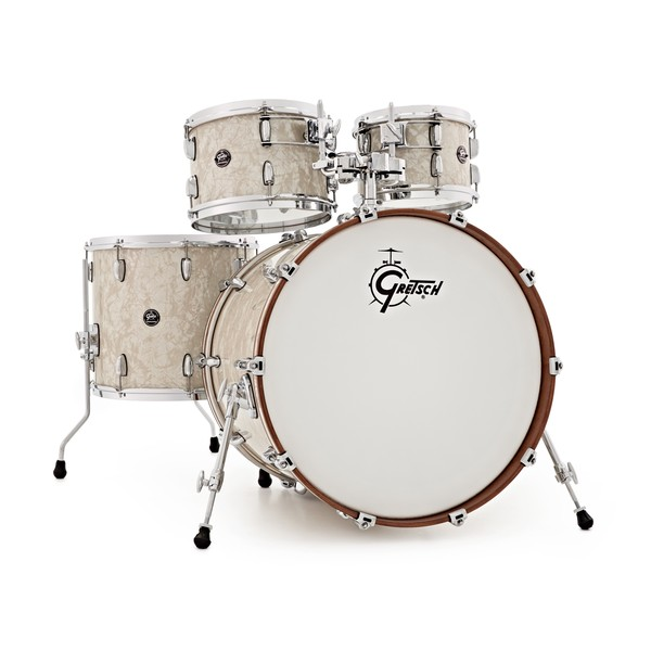 """Gretsch Renown 22"""" 4pc Shell Pack, Vintage Pearl"""