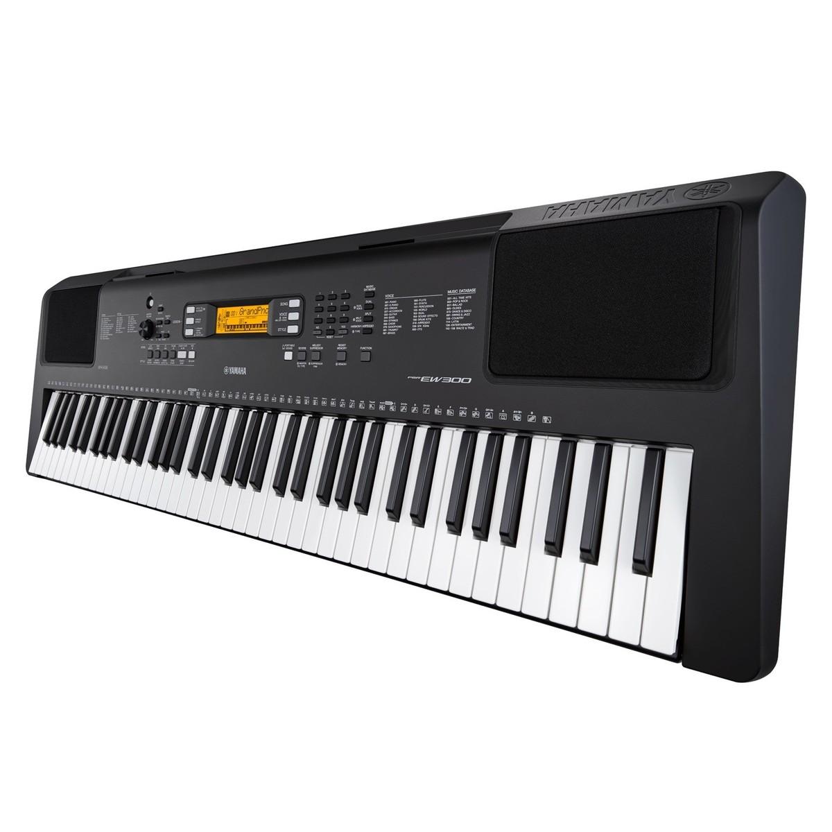 yamaha psr ew300 portable keyboard at gear4music. Black Bedroom Furniture Sets. Home Design Ideas