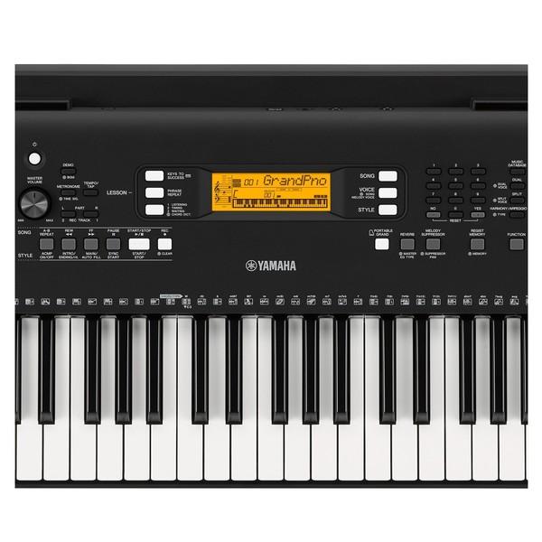 Yamaha PSR-EW300 Interface