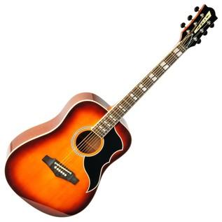Eko Ranger Vi VR EQ Electro Acoustic Guitar, Honey Burst Front