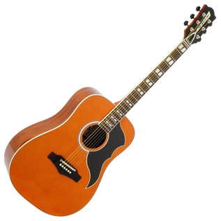 Eko Ranger Vi VR EQ Acoustic Guitar, Natural Front