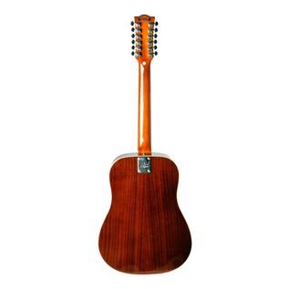 Eko Ranger XII VR EQ Electro Acoustic Guitar, Honey Burst Back