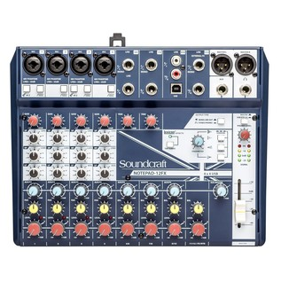 Soundcraft Notepad 12-FX Analog USB Mixer