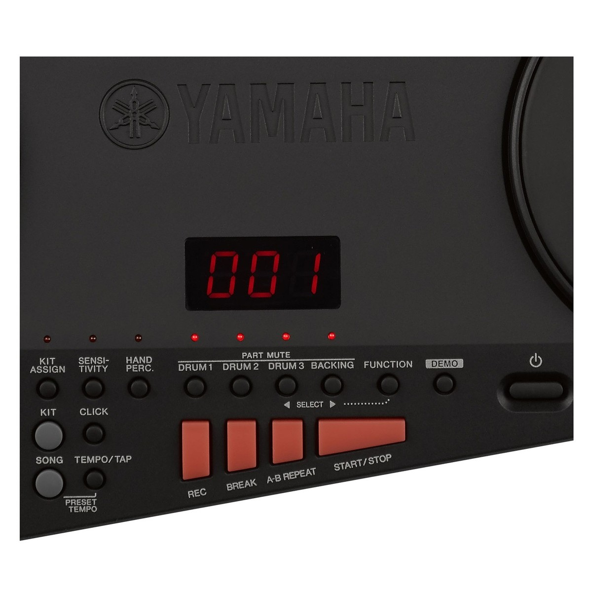 Yamaha dd 75 electronic drum pad kit at gear4music for Yamaha drum pads