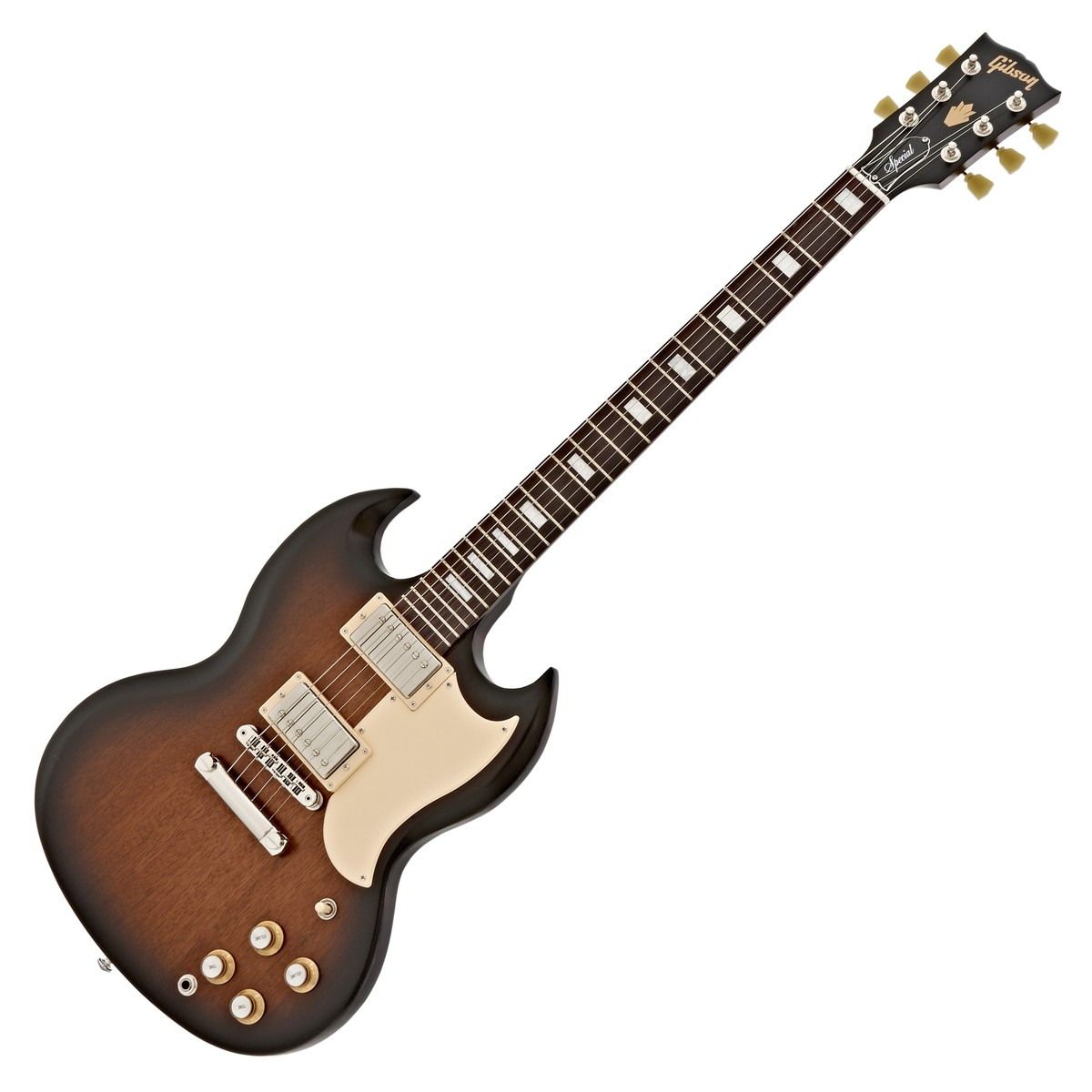 Click to view product details and reviews for Gibson Sg Special T Electric Guitar Satin Vintage Sunburst 2017.