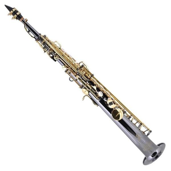 Keilwerth SX90Soprano Saxophone, Black Nickel
