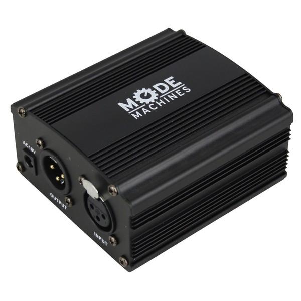 Mode Machines NW-100 48V Phantom Power For Condenser Microphones - Angled