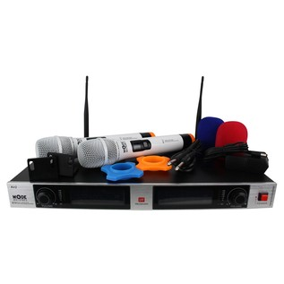 Mode Machines Air-2 W Dual Wireless UHF Microphone Set - Full Contents