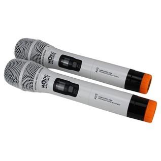 Mode Machines Air-2 W Dual Wireless UHF Microphone Set - Microphones