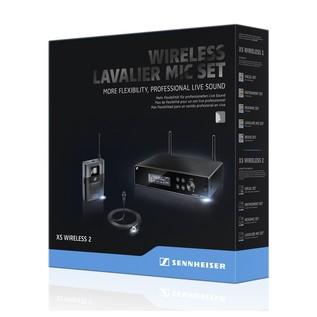 Sennheiser XSW 2-ME2 Lavalier Microhpone Set Packaging