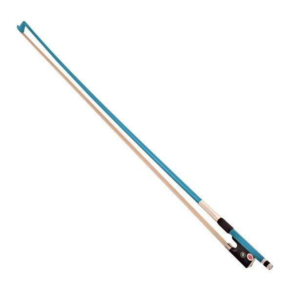 Primavera Rainbow Fantasia 3/4 Violin Bow, Blue