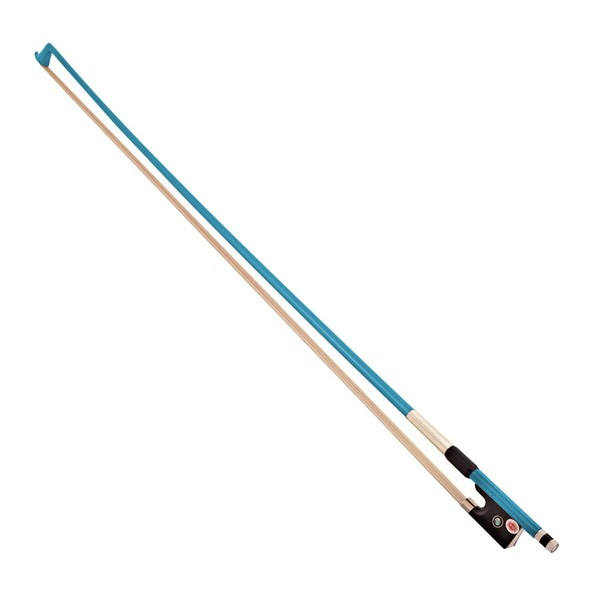 Primavera Rainbow Fantasia 1/2 Violin Bow, Blue