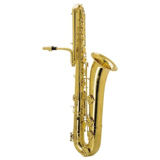 Keilwerth SX90 Bass Saxophone, Gold Lacquer