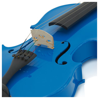 Student 1/2 Violin, Blue, by Gear4music