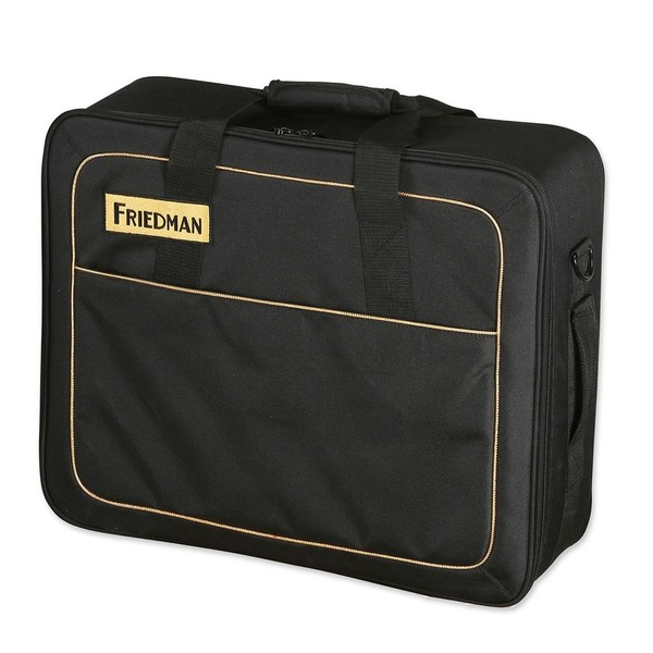 "Friedman Tour Pro 1520 15"" x 20"" Pedal Board- Carry Bag Angle"