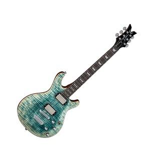 Dean Icon Flame Top, Faded Denim Full Guitar