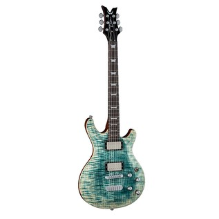 Dean Icon Flame Top, Faded Denim Front View