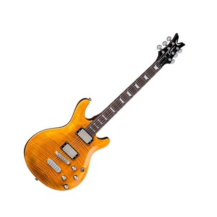 Dean Icon Flame Top, Trans Amber Full Guitar