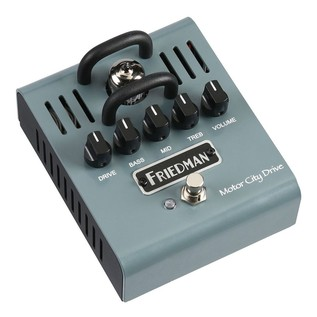 Friedman Motor City Drive Tube Overdrive Pedal- Right