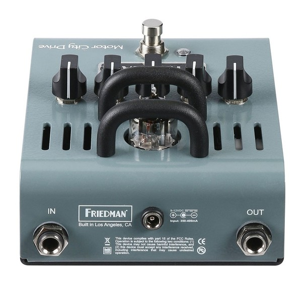 friedman motor city drive tube overdrive pedal at gear4music. Black Bedroom Furniture Sets. Home Design Ideas