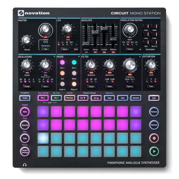 Novation Circuit Mono Station - Top