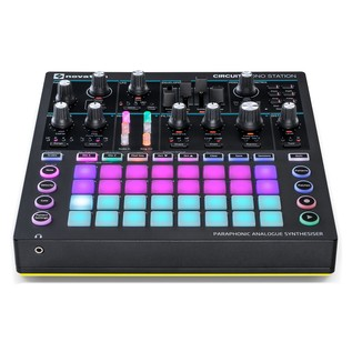 Novation Circuit Paraphonic Portable Synth - Front