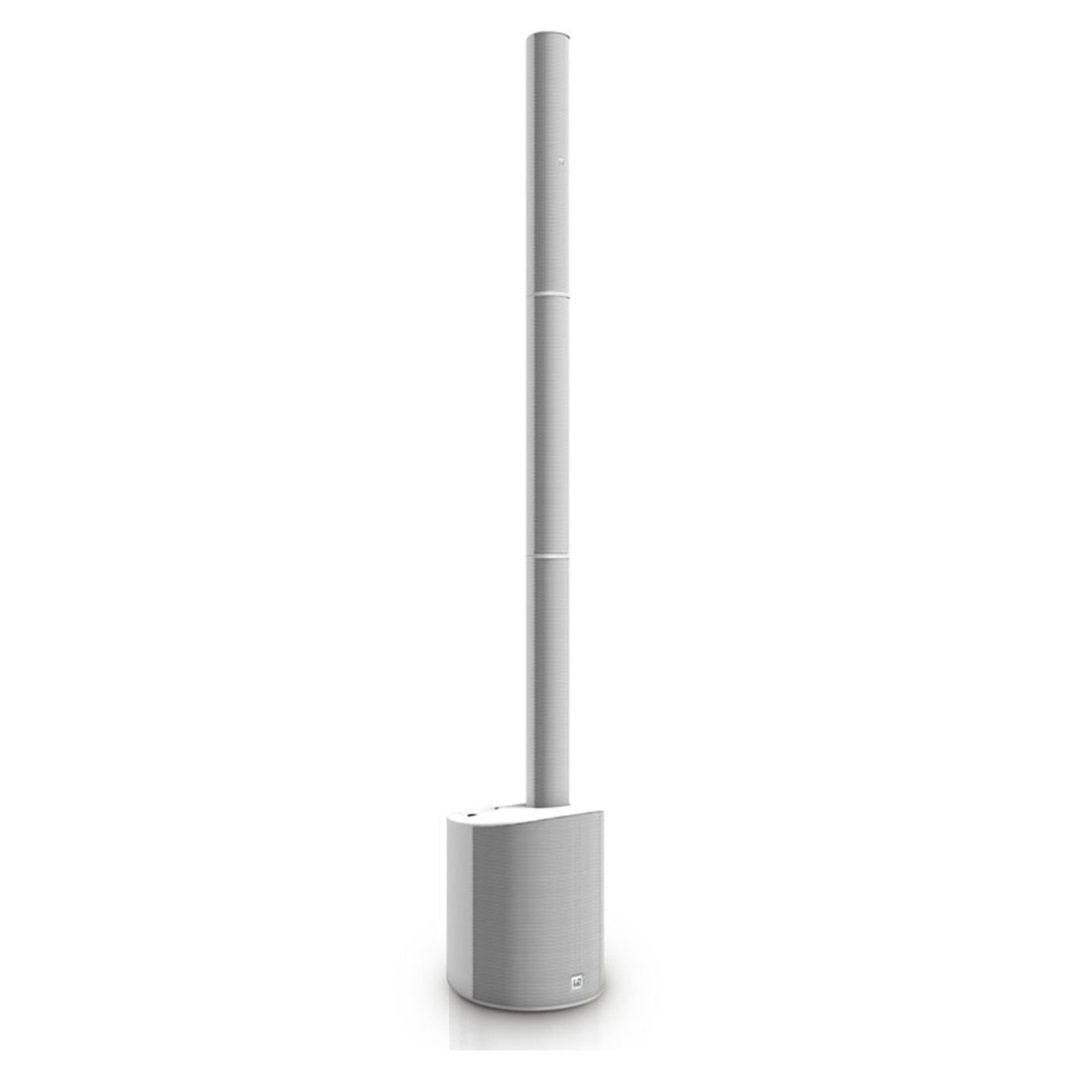 LD Systems Maui 5 Go Battery Powered Column PA System, White