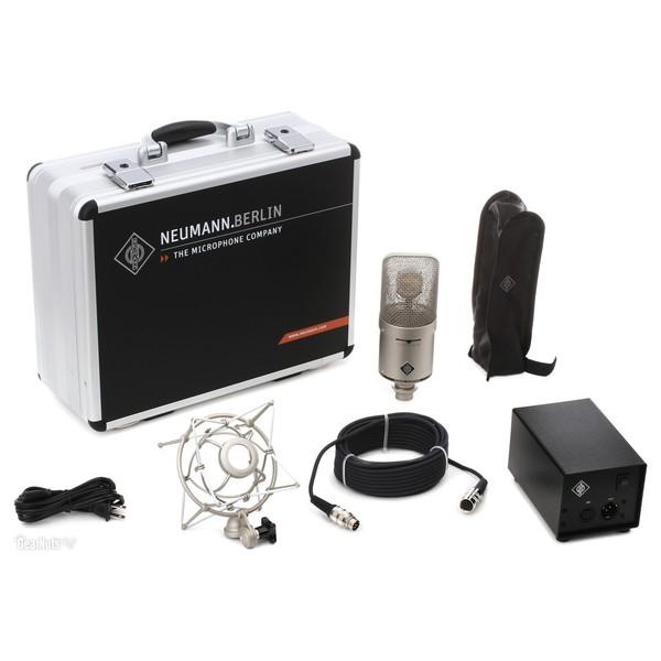 Neumann M 149 Tube Studio Microphone - Full Contents