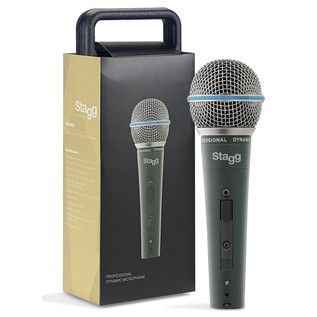 Stagg SDM60 Metal-Chassis Vocalist Premium Dynamic Mic