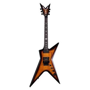 Dean Dimebag Stealth Floyd DS Electric Guitar, Trans Brazilia Front View