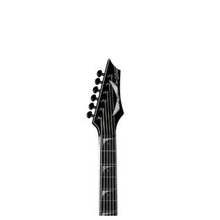 Dean V Dave Mustaine StradiVMNT Electric Guitar, Classic Black Neck View