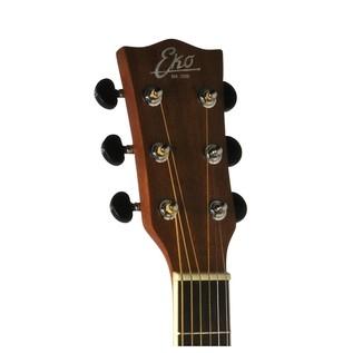 Eko TRI D CW EQ Electro Acoustic Guitar, Natural- Headstock