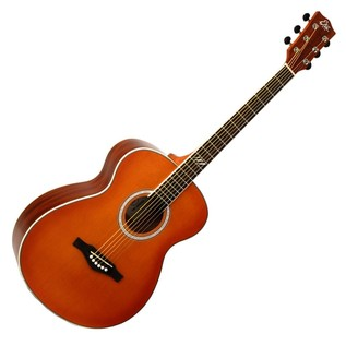 Eko TRI 018 Acoustic Guitar, Honey Burst