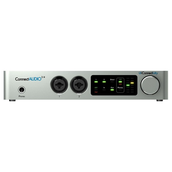 iConnectivity ConnectAUDIO2/4 USB Audio Interface - Front