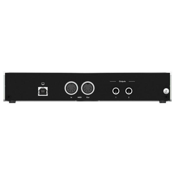 iConnectivity ConnectAUDIO2/4 USB MIDI Interface - Rear