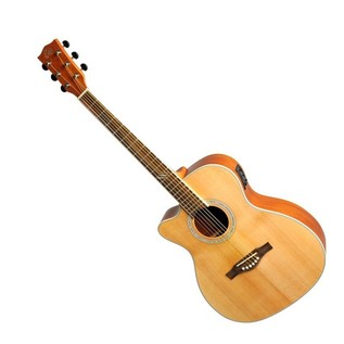 Eko TRI 018 CW EQ LH Electro Acoustic Guitar, Natural