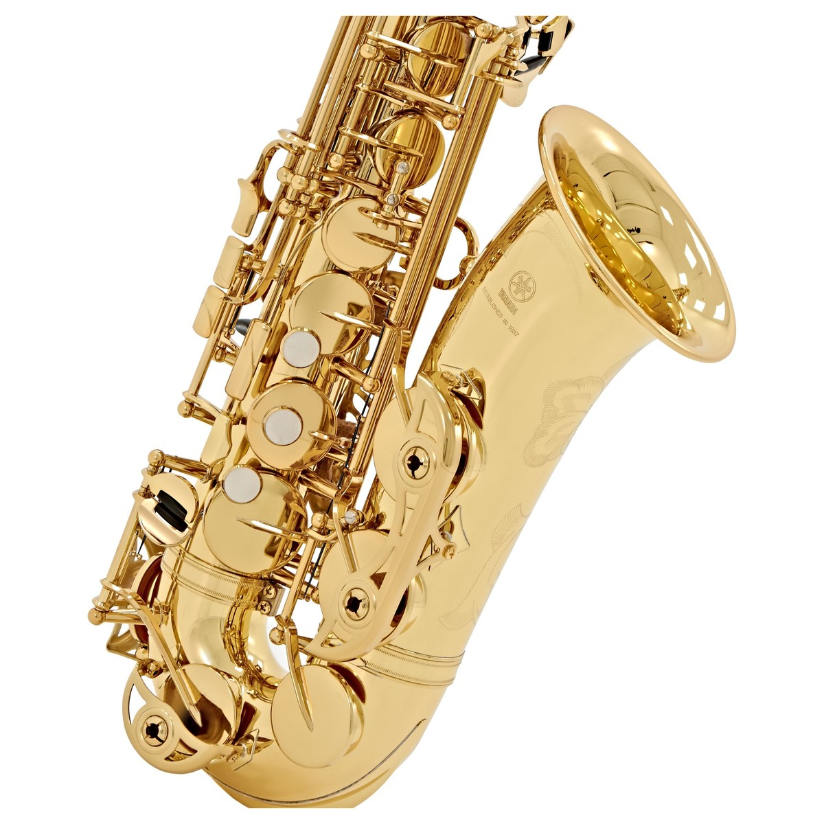 yamaha yas62 professional alto saxophone gold box opened gear4music. Black Bedroom Furniture Sets. Home Design Ideas