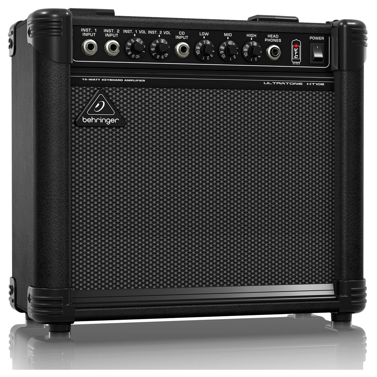 behringer kt108 ultra compact 15 watt keyboard amp at gear4music. Black Bedroom Furniture Sets. Home Design Ideas