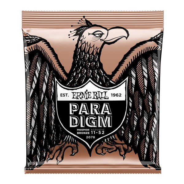 Ernie Ball Paradigm Light Phosphor Bronze, 11-52