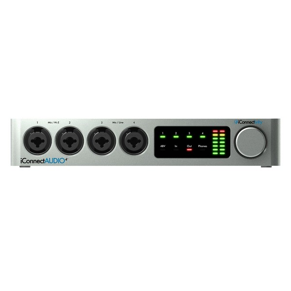 iConnectivity iConnectAUDIO4+ USB Audio Interface - Front