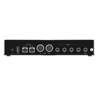 iConnectivity iConnectAUDIO4+ Audio Interface - Rear