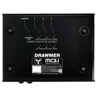 Drawmer MC3.1 Desktop Monitor Controller - Underneath