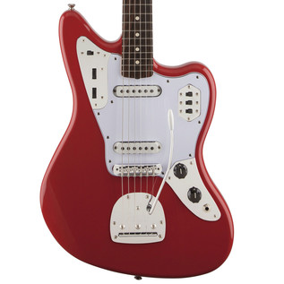 Fender 60s Jaguar Lacquer Electric Guitar, Fiesta Red