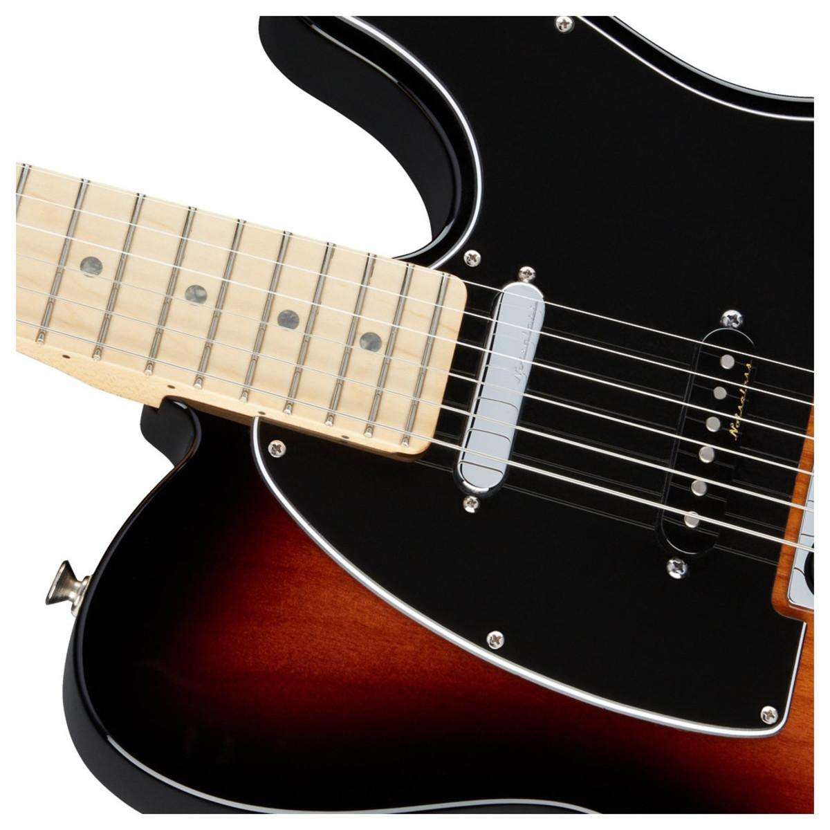 fender deluxe nashville telecaster electric guitar 2 tone sunburst box opened at. Black Bedroom Furniture Sets. Home Design Ideas