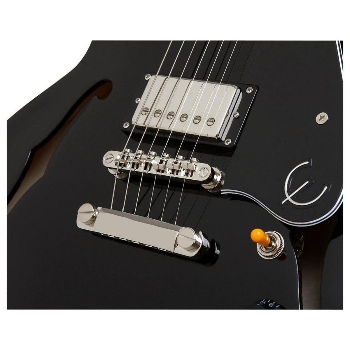 Epiphone limited edition es 335 pro electric guitar ebony