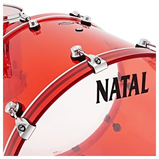 Natal Arcadia Acrylic Shell Pack, Red