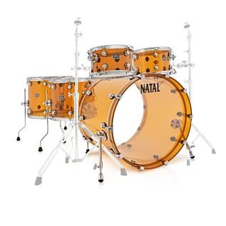 Natal Arcadia 5 Piece Acrylic Shell Pack, Orange